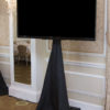 "70"" TV on rolling stand - Just A/V"