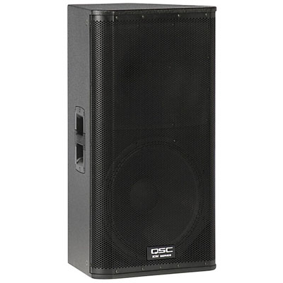 "Amplified QSC 15"" PA Speaker - Just A/V"