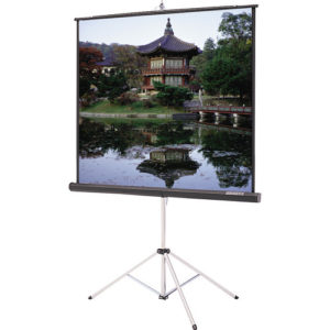 "96"" Tripod Screen Rental - Just A/V"