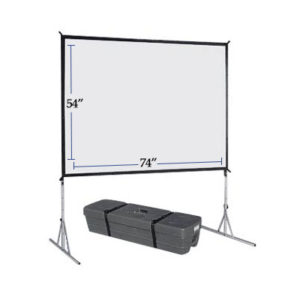 "54""x74"" Fast Fold Projection Screen Rentals - Just A/V"