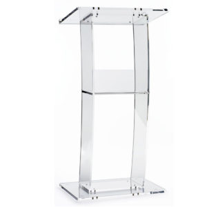 Acrylic Podium for Rent